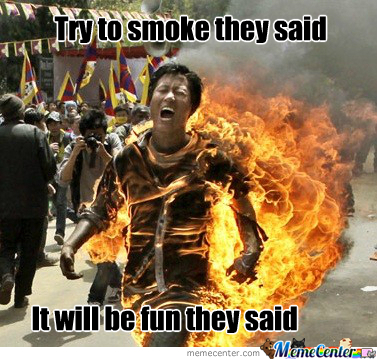 Try To Smoke
