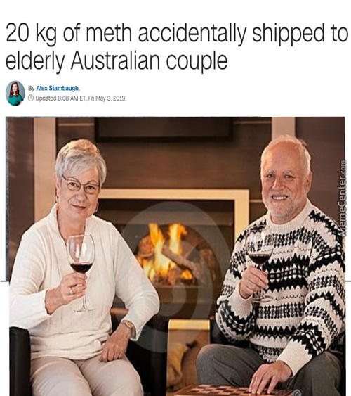 Trying To Hide The Pain *meth