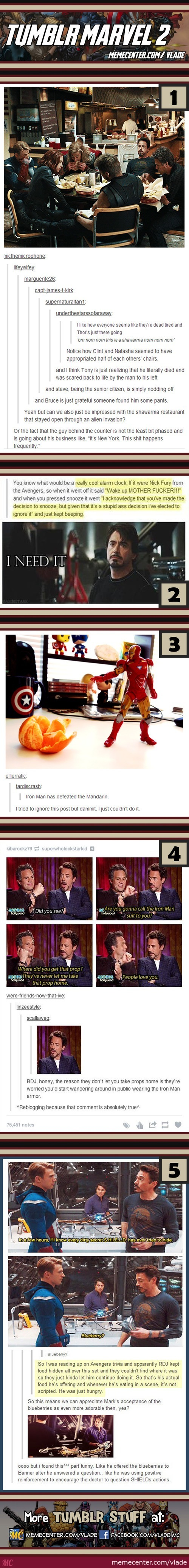 Tumblr Marvel #2