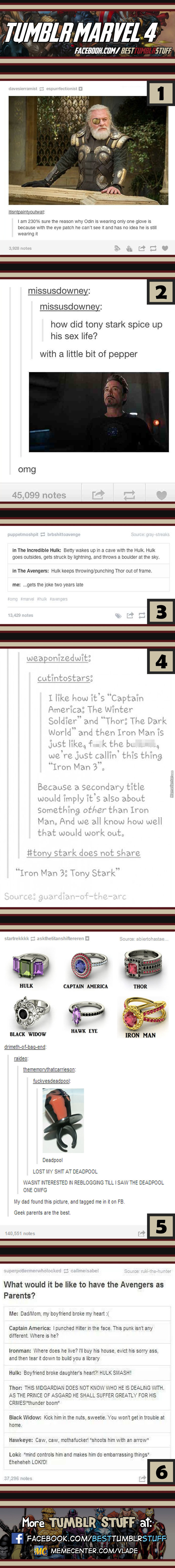 Tumblr Marvel #4
