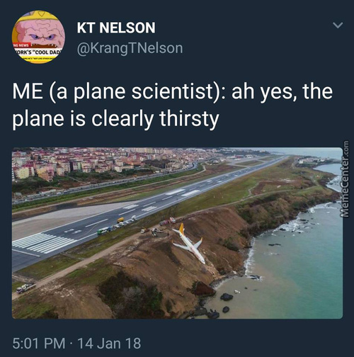 Turkey, Where Planes Are Thirsty