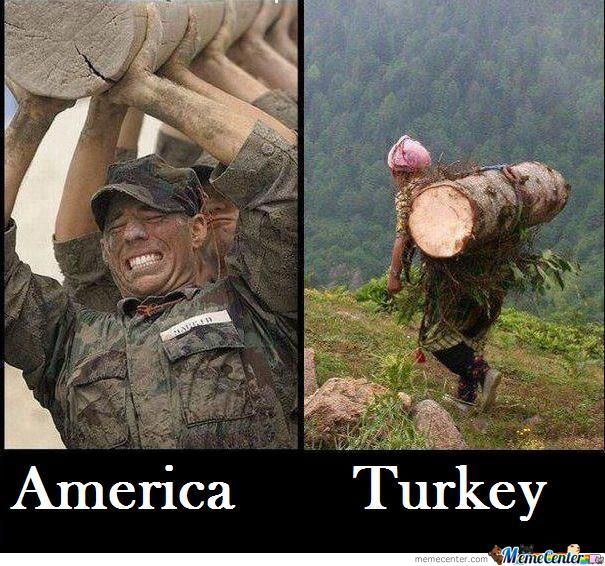 Turkish Woman Vs American Soldiers