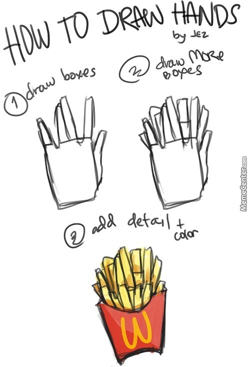 Tutorial Really Easy Hao 2 Draw Handz By Senpaitouchme