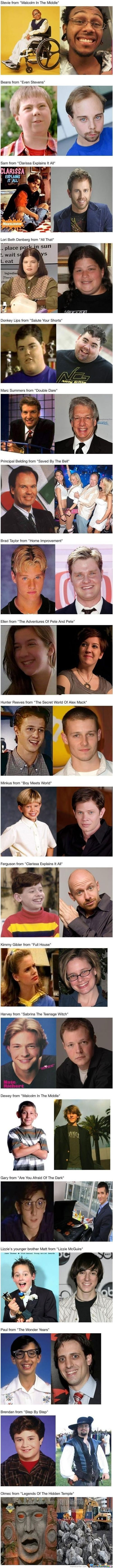 Tv Stars Then And Now (Sry For Long Post)