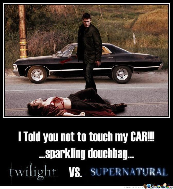 Twilight Vs Supernatural By Awesomeone Meme Center