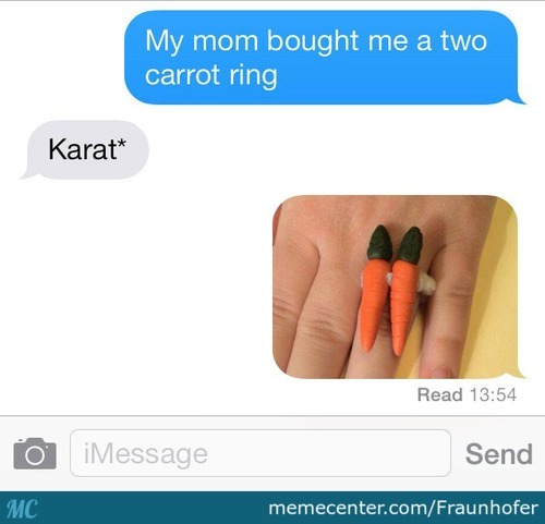 Two Carrot Ring