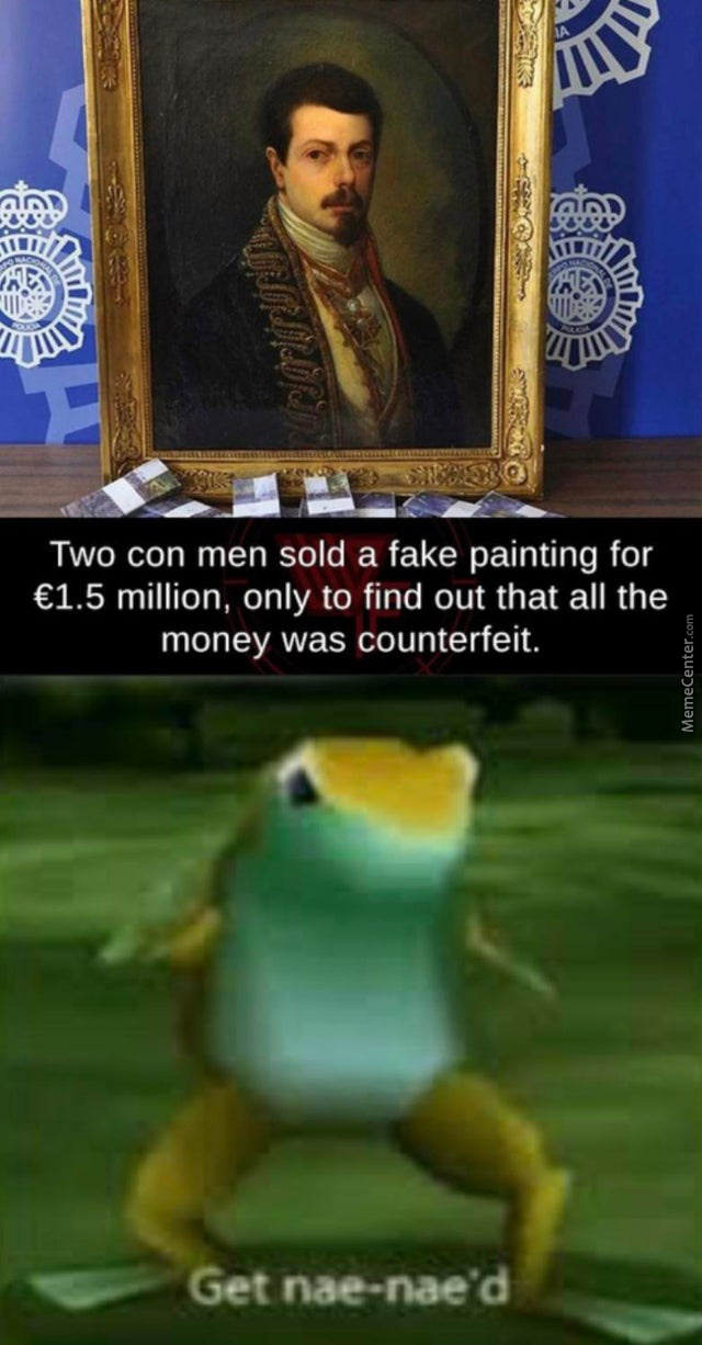 Two Con Men Sold A Fake Painting For 1.5 M