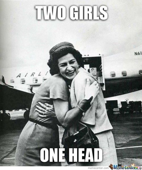 Two Girls One Head