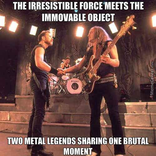 Two Metal Legends
