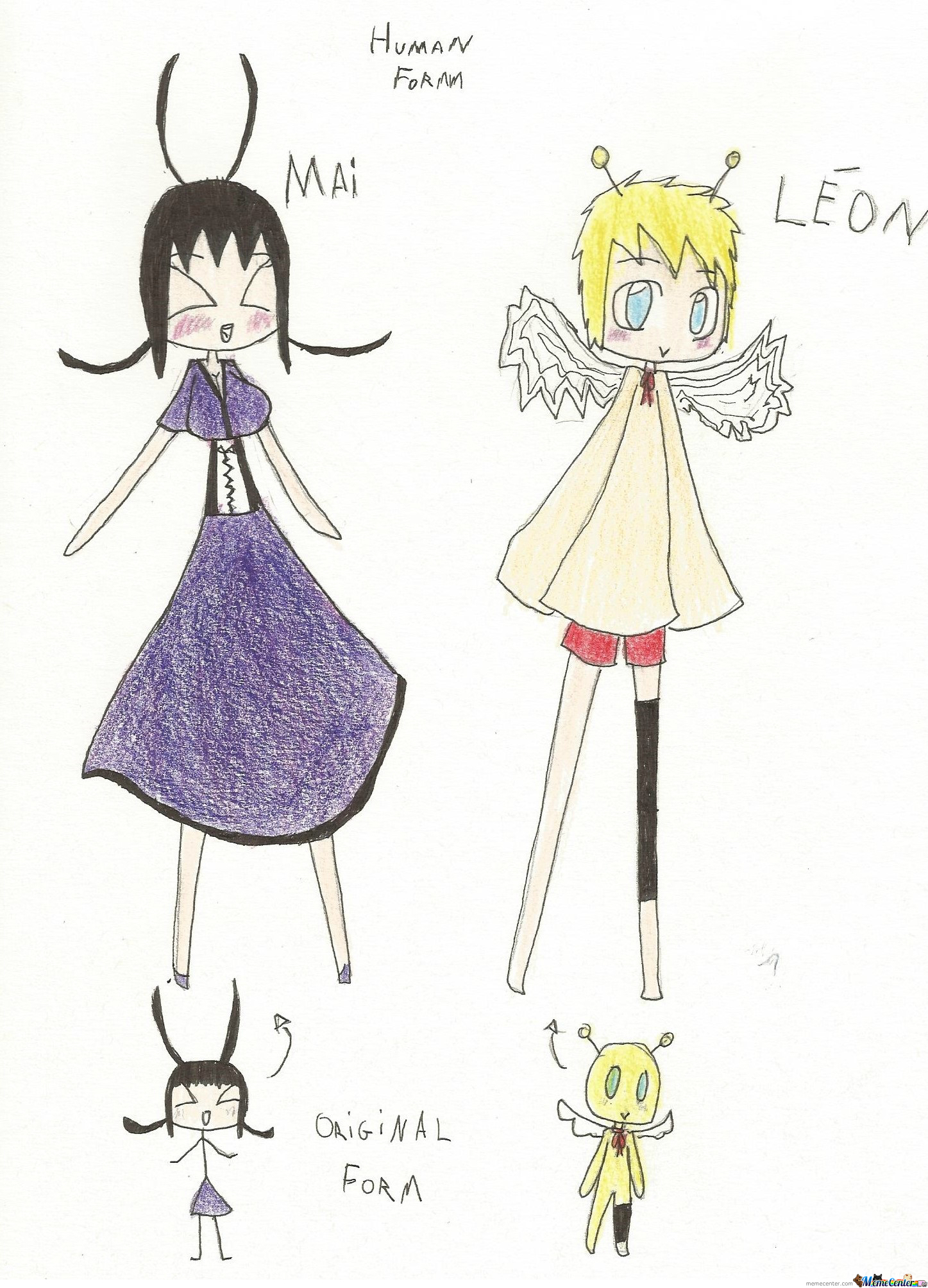 Two Of My Ocs