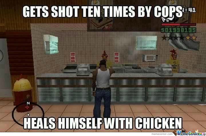 Typical Grand Theft Auto...