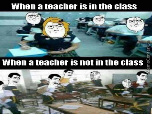 Typical Students' Reaction