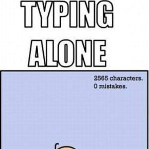 typing with and without a spectator by bakoahmed meme center