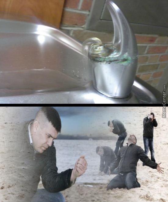 You Wont Drink From Here?