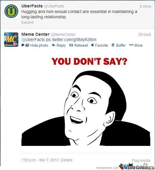 @uberfacts Being Trolled By Memecenter On Twitter! :)