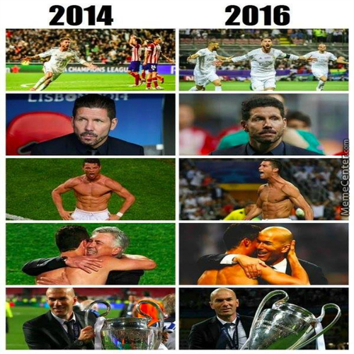 Uefa Champions League Final 2014 And 2016