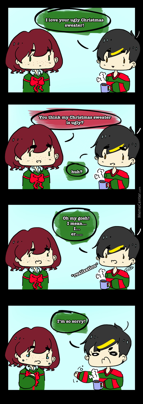 Ugly Christmas Sweater Problems