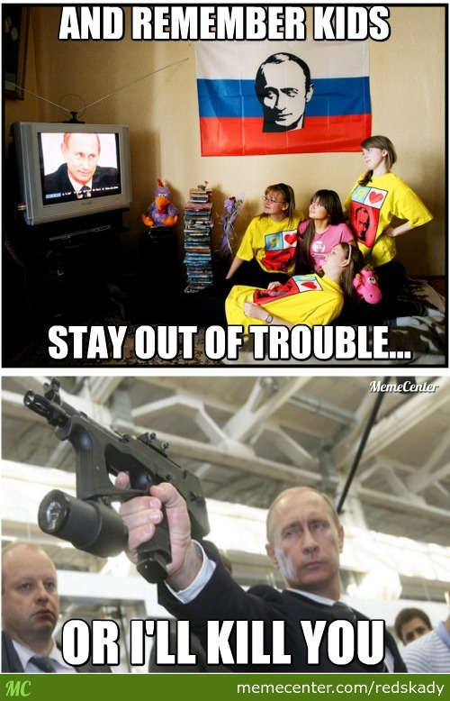 Uncle Vlad Sends Message To Russian Kids