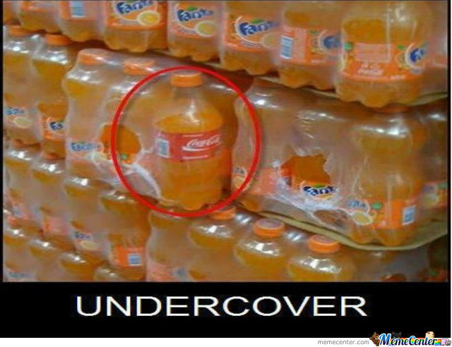 Undercovcer...