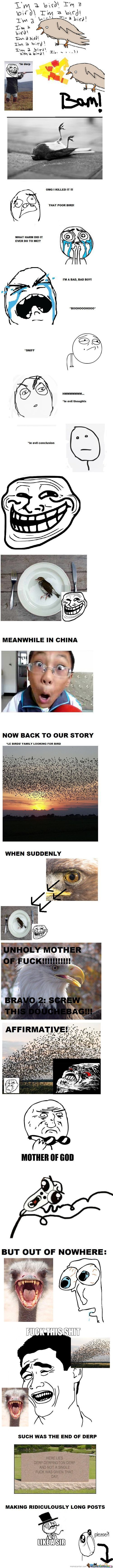 Unholy Mother Of Birds!
