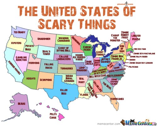 united states of scary things