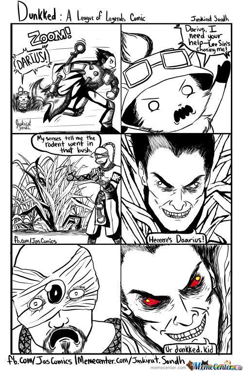 Ur Dunkked, Kid--A League Of Legends Comic