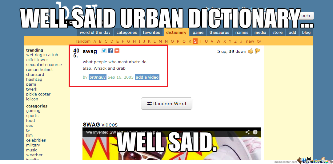 urban dictionary_o_2264657 urban dictionary by pikajew meme center,Memes Urban Dictionary