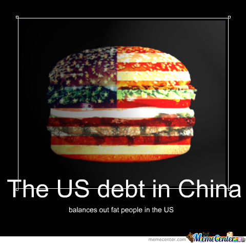 us debt_o_2127137 us debt by recyclebin meme center,Debt Meme