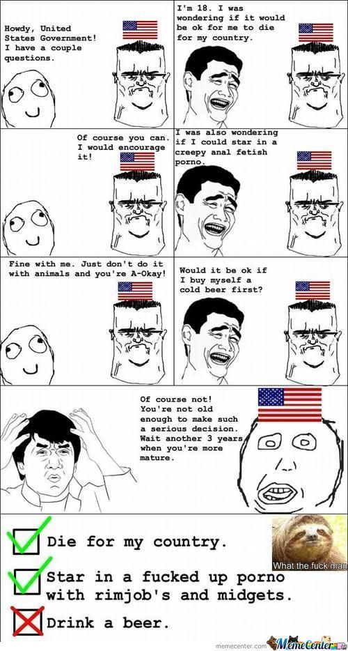 Usa And Beer