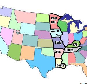 This Is The Only Reason I Know Where Kentucky Is On The Map Imgur - The chef in the us map