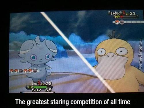 Use Stare,psyduck