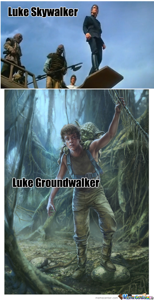Use The Farce, Luke