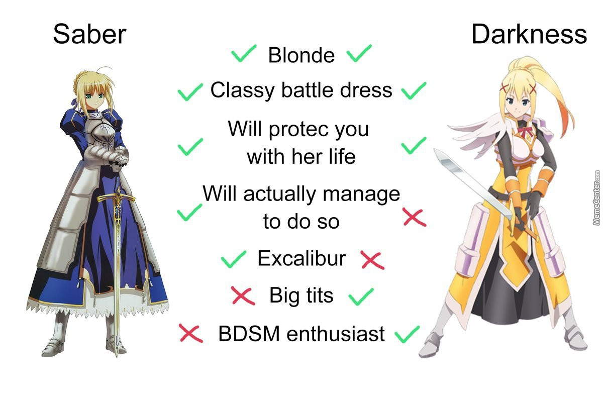 Useless Masochistic Big Titty Female Knights Are Superior