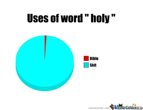 "Uses Of Word "" Holy """