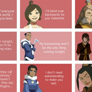 Valentine Pick Up Lines From Avatar: The Legend Of Aang By  That Hopeful Idiot   Meme Center