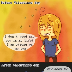 the irony of valentines day