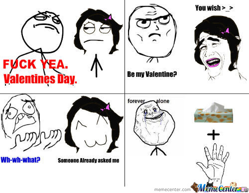 Valentine's Day Alone