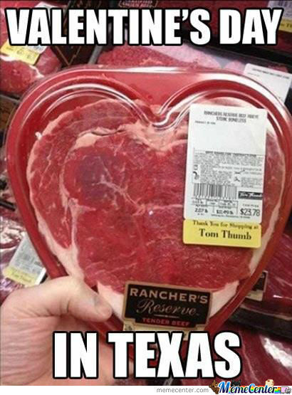 Valentine's Day In Texas