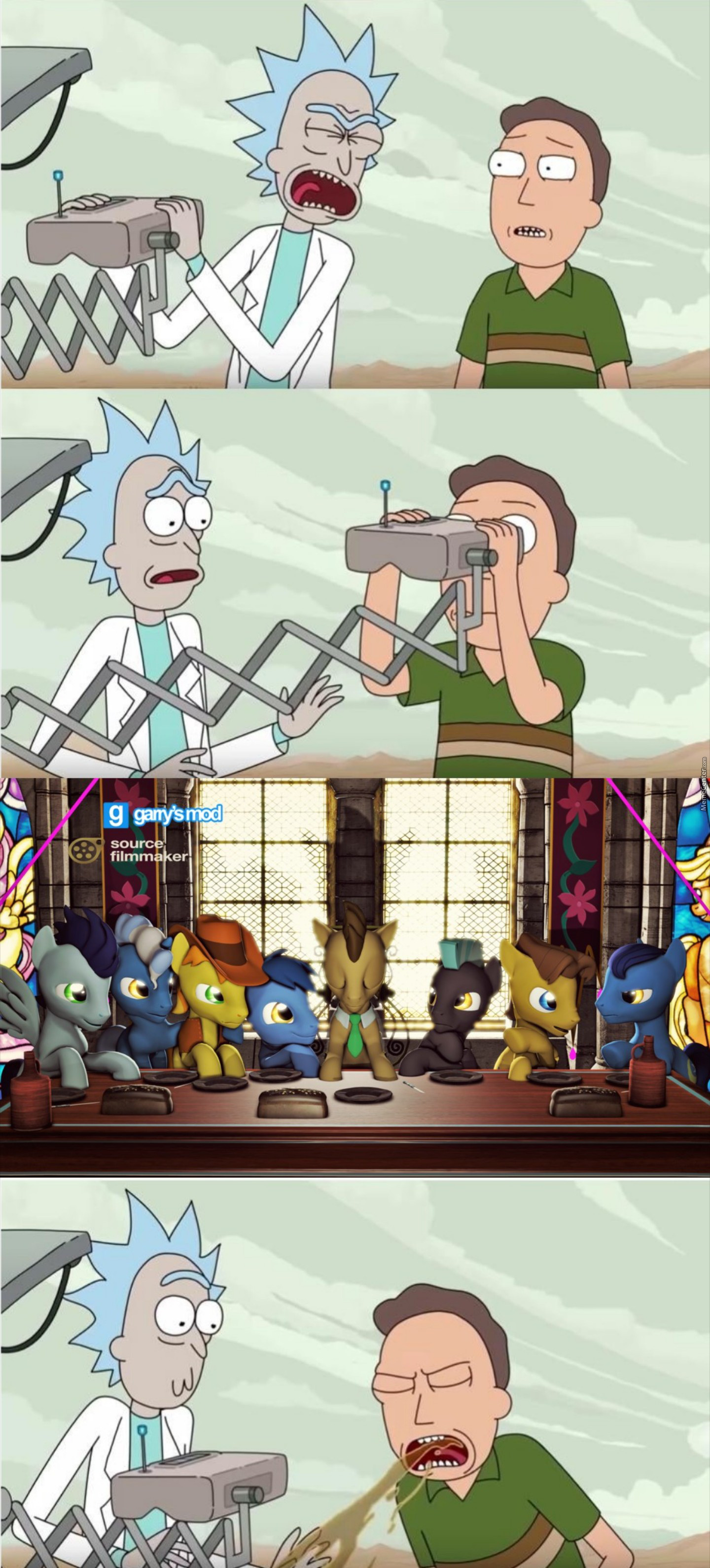 Valve Employe: Sir! They've Taken Over The Sfm Community! Gaben: Let Them Be. *says While Watching Mlp*