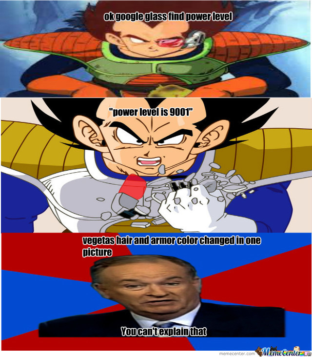 vegeta use s google glass by mememaker101 meme center