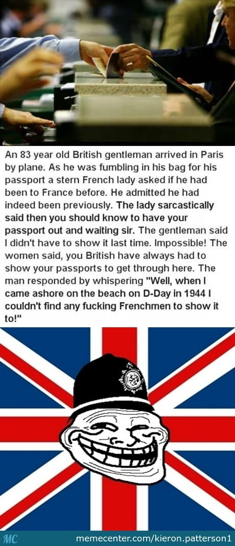 Very British Troll