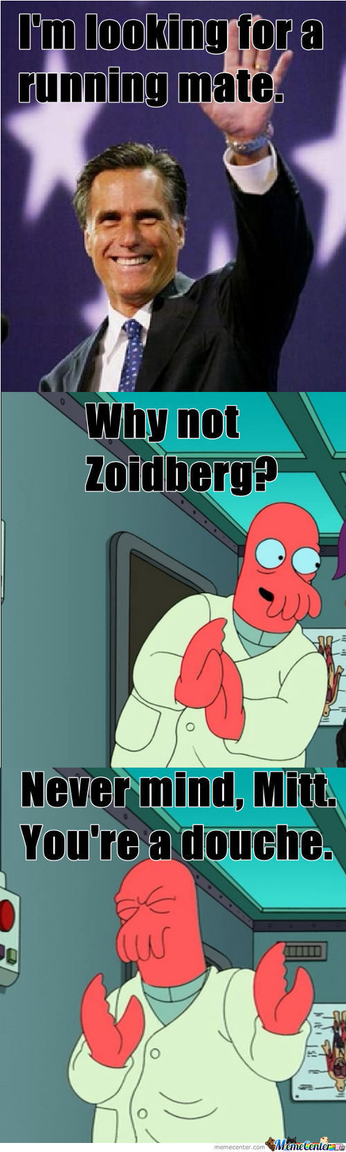 Vice President? Why Not Zoidberg?