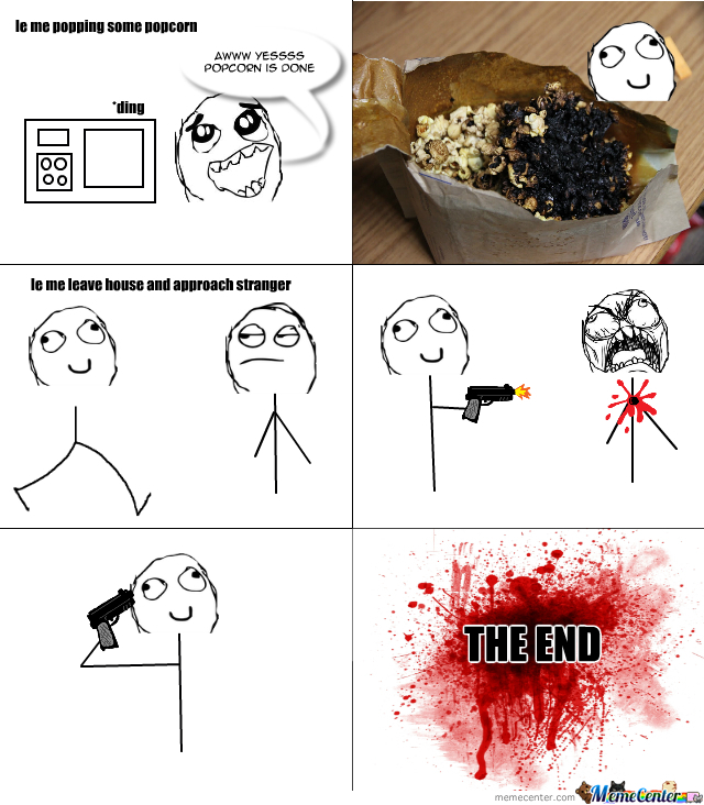 Video Games Dont Cause Violence Burnt Popcorn Does By