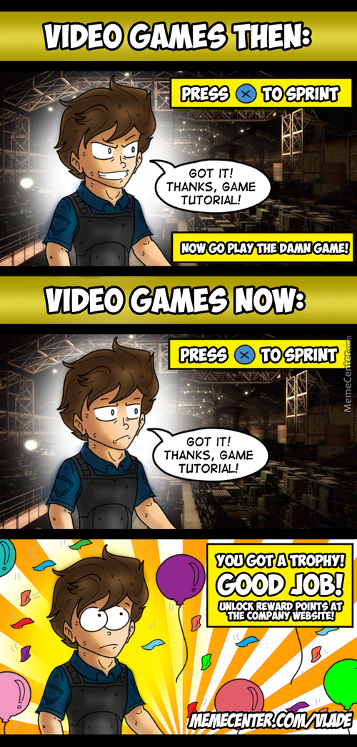 Video Games Then And Now