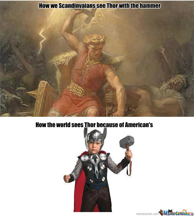 viking thor vs thor the wimp_o_951778 viking thor vs thor the wimp by lordmiffy meme center