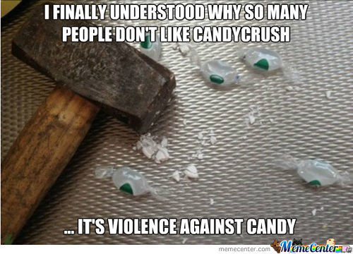 Violence Against Candy