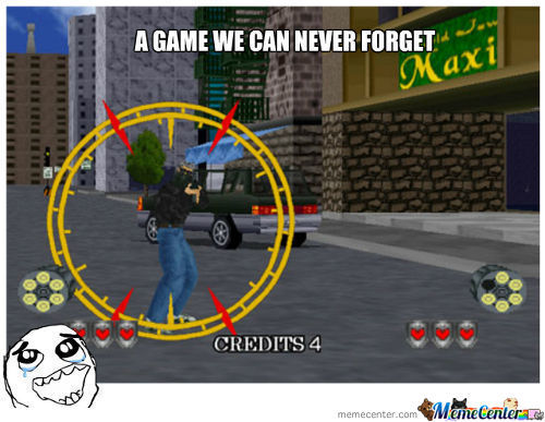 Virtual Cop 2 , Awesom Memories