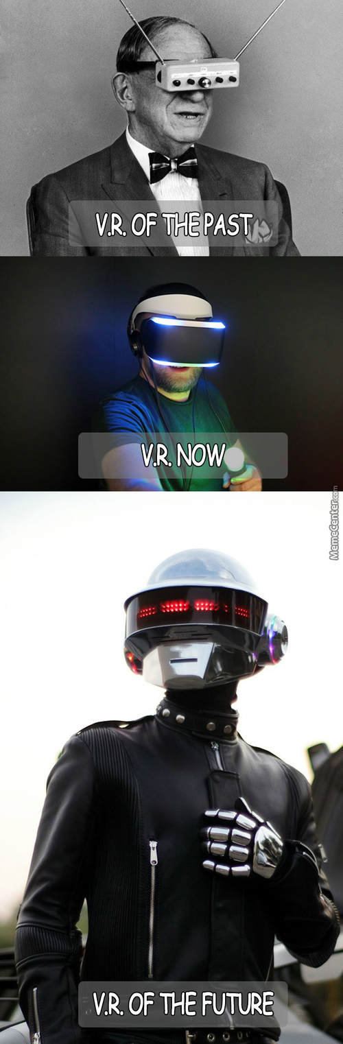 Virtual Reality Is A Growing Thing