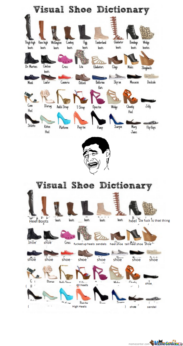 Virtual Shoe Dictionary by 98sharks