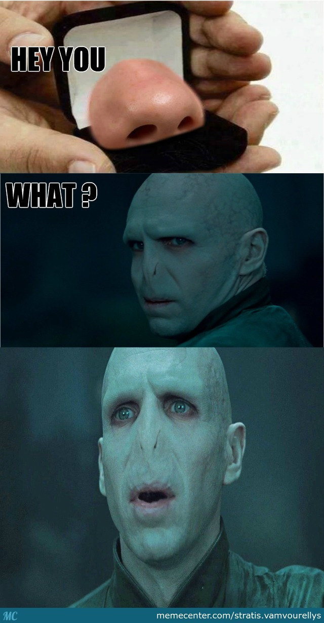 Voldemort S Nose By Stratos1st Meme Center